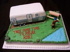 camper cake, next bday cake