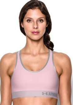 Under Armour Compression sports bras deliver superior support & comfort during intense workouts. Click here: http://amzn.to/2mQKw4d