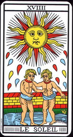 The Sun - Tarot de Marseille (Camoin-Jodorowsky) - Rozamira Tarot - Picasa Web Albums