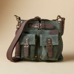 WORLD EXPLORER BAG - just bought it! It's delightful and makes me feel like Indiana Jones.