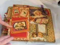 Christmas Past Envelope Mini Album