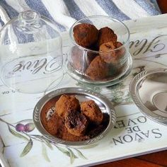 Let's celebrate May 2 National Truffle Day with these Crunchy Mocha Truffles