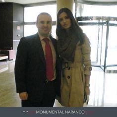 En Hotel Silken Monumental Naranco pudimos disfrutar  la visita de la periodista deportiva Sara Carbonero. ¡Un placer!  Hotel Silken Monumental Naranco Oviedo: http://www.hoteles-silken.com/hoteles/monumental-naranco-oviedo/hotel/