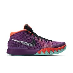 f73f3c156867e Nike Kyrie 1 Easter I Men Basketball Sneakers Medium Berry -- Check out the  image by visiting the link. (This is an affiliate link)