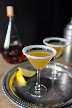 The Sidecar cocktail is one of Jamie Oliver's favourites; a classic that combines rich cognac with sweet orange liqueur and zesty freshly squeezed lemon juice.
