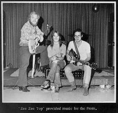 ZZ Top: ZZ Top is an American rock band from Houston, Texas. Formed in the group consists of Billy Gibbons, Dusty Hill, and Frank Beard. ZZ Top's early sound was rooted in blues but eventually grew to exhibit contemporary influences Billy Gibbons, Zz Top, Robert Motherwell, Victor Vasarely, Rock Roll, Power Metal, Music Icon, My Music, Music Stuff