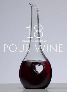 Check out these modern wine decanters. Wine And Liquor, Wine And Beer, Carafe, Wine Gadgets, Kitchen Gadgets, Wine Facts, Cheap Wine, Wine Parties, In Vino Veritas