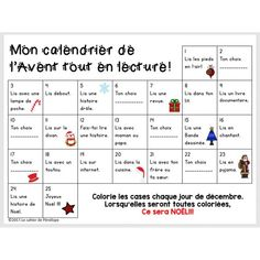 GRATUITÉ Calendrier de l'Avent tout en lecture Le cahier de Pénélope Christmas Crafts For Kids, Christmas Holidays, School Organisation, What Happened To You, Learn French, Holidays And Events, Literacy, Classroom, Teaching