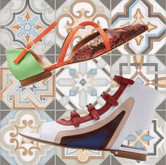 COLORFULL SHOES SS16   http://www.valentinacuriosea.com/2016/05/colorfull-shoes.html