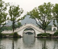 Bridge in Guilin China - looks like the bridge in the Blue Willow china pattern