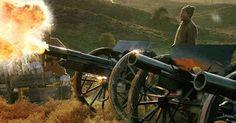 "Turkish Army artillery at the Battle of Dumlupınar - ""Veda"" (2010)"
