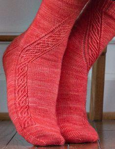 Ravelry: Angular Velocity pattern by Rich Ensor Knitting Patterns Free, Free Knitting, Free Pattern, Little Cotton Rabbits, Knitting Socks, Knit Socks, Knitting Magazine, How To Start Knitting, Knitted Slippers