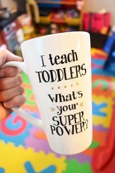 Teacher Coffee Mug // Preschool Teacher Gift // Day Care Teacher Gift // Teacher Appreciation Gift // Teacher Gift under 15 by StellaKayeDesigns on Etsy https://www.etsy.com/listing/482451547/teacher-coffee-mug-preschool-teacher