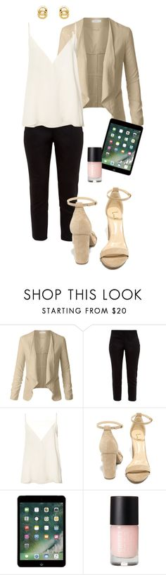 """""""Artist Manager"""" by deliag ❤ liked on Polyvore featuring LE3NO, Ted Baker, Anine Bing, LULUS and Monet"""