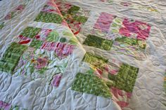 nicey jane queen bed quilt by olivetreetextiles