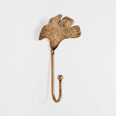 METAL LEAF HOOK - Hooks - Decoration   Zara Home Denmark