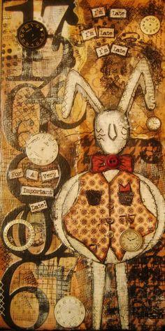 Part of Jeni's Alice Series... the White Rabbit