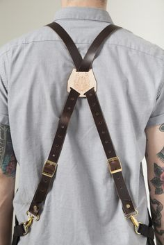 Leather X-Back Straps