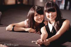 Sonya Pandarmawan and Stella Cornelia #JKT48