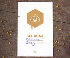 BEE MINE | Printable Valentine's Day Cards