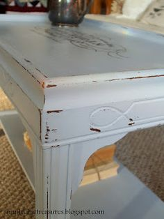 French Script Coffee Table