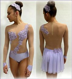 Would love to dance in this contemporary costume