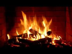 Fireplace   romantic   Full HD and 4K   2 hours crackling logs Valentine's Day   Love - YouTube