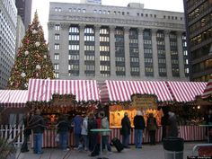We're on a @HuffPostTravel list! Daley Plaza starting Nov. 20! Christkindlmarket: Chicago, Illinois