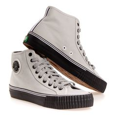 Pf Flyers Center Hi Men's Athletic Shoes: Grey/BLK 10