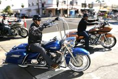 American Heat Palm Springs Motorcycle Weekend riding on Palm Canyon Drive