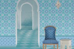 Best 25 louis xv chair ideas on pinterest french style - American tin tiles wallpaper ...