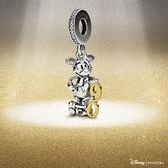 Mark the occasion with a limited edition Disney charm in sterling silver and gold from PANDORA. Pandora Store, Pandora Jewelry, Silver Necklaces, Silver Earrings, Drop Earrings, Initial Necklace, Bar Necklace, Pandora Charms Disney, Silver Jewelry Cleaner