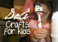 artist study Salvador Dali crafts for kids letter D Preschool Arts And Crafts, Preschool Games, Crafts For Kids, Activities, Learning Spanish For Kids, Fun Learning, Lessons For Kids, Art Lessons, Famous Artists