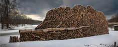 The Art of Stacking Wood - Imgur