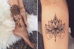 10 inspirações para quem quer fazer uma tatuagem estilo mandala