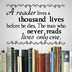 A thousand lives through reading