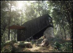 http://www.evermotion.org/vbulletin/showthread.php?108070-House-Forest-Retreat-Uhlik-Architekti