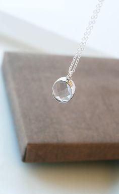 Lange Halskette, Silber Halskette, delikates Collier, einfache Halskette, alltägliche Halskette, Schichtung Collier, Silber Halskette, Halskette Oval