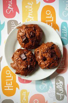 Kuchnia Bazylii: Ciastka czekoladowe