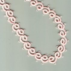 First Needle Tatting Patterns | ... blue ribbon.. The pattern is from the book, A New Twist on Tatting