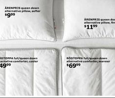 Utility Bed, Bedding Basics, Kids Bedroom, Comforters, Bed Pillows, Pillow Cases, Beds, Creature Comforts, Pillows