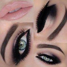 ✨Arabic Makeup by: Maya Mia Beautiful Eye Makeup, Love Makeup, Makeup Looks, Beautiful Eyes, Maya Mia, Smokey Eye Makeup, Skin Makeup, Smoky Eye, All Things Beauty
