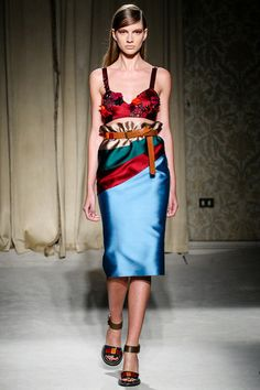 Aquilano.Rimondi Spring 2014 Ready-to-Wear Collection Slideshow on Style.com