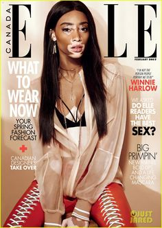 Winnie Harlow became a public figure in 2014 when she was handpicked from Instagram by Tyra Banks to compete in America's Next Top Model. And despite being one of the few ANTM alum to actuall…