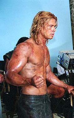 Brad Pitt. Troy - Achilles.