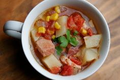 Slow Cooker Brunswick Stew!  Via Miriam Latour.
