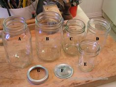 Canning List For The Beginner:  Never start buying canning items before you have asked friends if they have such items they are no longer using.