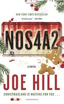 """2013 Bram Stoker Awards Nominee for Superior Achievement in a Novel: Joe Hill for""""NOS4A2""""(William Morrow)"""