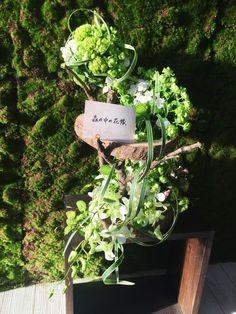 森の中の花嫁❤ フラワー装飾技能グランプリにて製作しました
