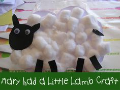 Adorable little lamb from @Cerys Parker!
